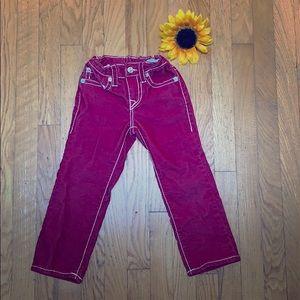 True Religion toddler jeans